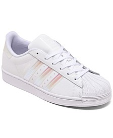 Little Girls Superstar Casual Sneakers from Finish Line