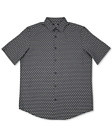 Men's Luke Plaid Woven Shirt, Created for Macy's