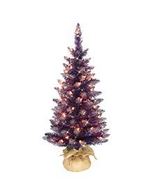 "3"" Pre-Lit Artificial Christmas Tree"