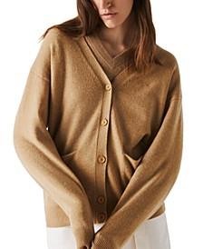 Wool V-Neck Cardigan