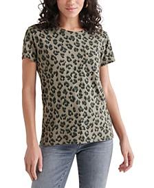 Cheetah-Printed Top