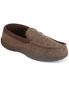Venetian Corduroy Collar Slippers