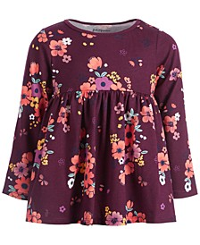Baby Girls Floral Bloom Tunic, Created for Macy's