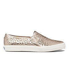 Women's Double Decker KS Quilted Nylon Sneakers
