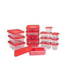 42-Pc. Meal Prep Food Storage Containers