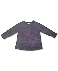 Plus Size Pointelle Sweater, Created for Macy's