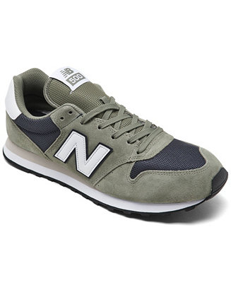 New Balance Men's 500 V1 Casual Running Sneakers from Finish ...