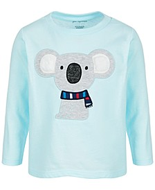 Baby Boys Long-Sleeve Koala Cotton T-Shirt, Created for Macy's