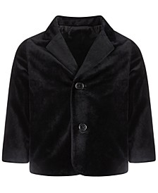 Baby Boys Velvet Blazer, Created for Macy's