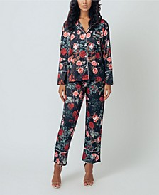 Women's Long Pajama Set