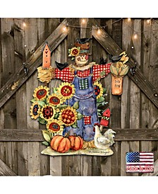 by Susan Winget Bethany Scarecrow Wall and Door Decor