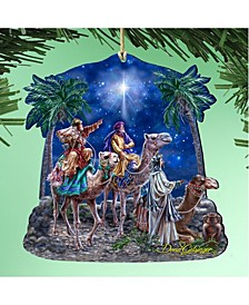 by Dona Gelsinger The Magic of Three Kings Ornament, Set of 2