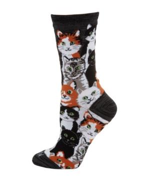 Multi Cat Women's Novelty Socks