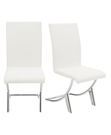 CLOSEOUT! Cordelia Dining Chair, Set of 2