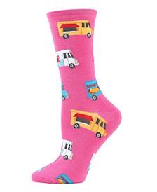 Food Trucks Women's Novelty Socks