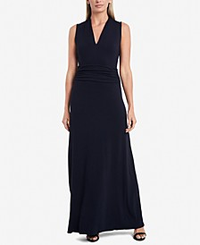 Petite Sleeveless Maxi Dress
