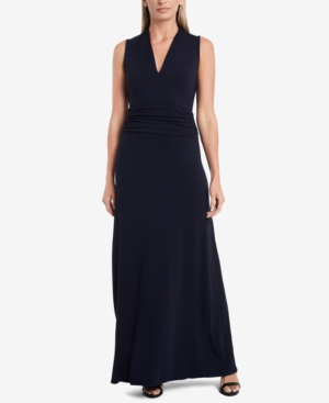 VINCE CAMUTO PETITE SLEEVELESS MAXI DRESS