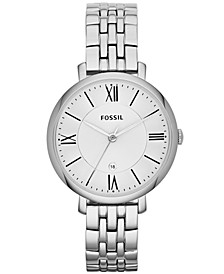 Women's Jacqueline Stainless Steel Bracelet Watch 36mm ES3433