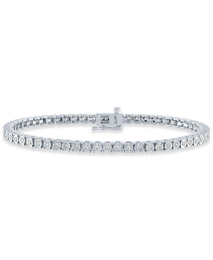 Macy's - Diamond Tennis Bracelet (1 ct. t.w.)
