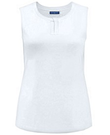 Keyhole Scoop Neck Tank, Created for Macy's