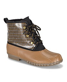 Fernanda Water Resistant Women's Duck Boot