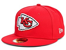 Kansas City Chiefs Team Color Basic 59 FIFTY FITTED Cap