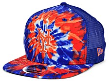New York Mets Tie Dye Mesh Back 9FIFTY Cap