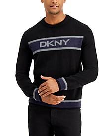 Men's Logo Crewneck Sweater, Created for Macy's