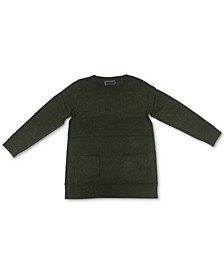 Crewneck Pocket Sweater, Created for Macy's