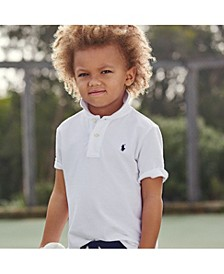 Toddler Boys Pique Polo