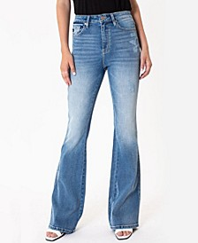 Women's High Rise Flare Jeans