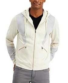 INC Men's Last Words Zip-Front Hoodie, Created for Macy's