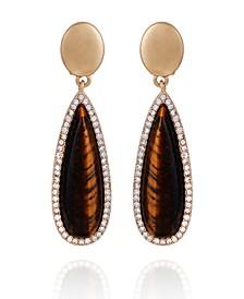 Women's Lovely Baubles Clip on Button Earring
