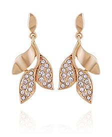 Women's Fashionable Florals Drop Earring