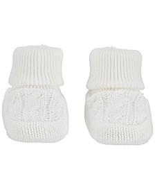 Baby Boys and Girls Cable Knit Booties