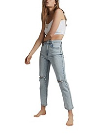 Women's Straight Stretch Denim Jean