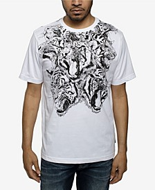 Men's Big and Tall Hydra Tiger Tee