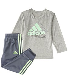 Baby Boys Long Sleeve Active Sport Top & Jogger Set