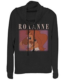 Women's A Goofy Movie Roxanne Fleece Cowl Neck Sweatshirt