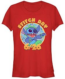 Women's Disney Stitch Day Short Sleeve T-shirt