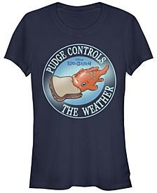 Women's Disney Lilo Stitch Pudge Weather Short Sleeve T-shirt