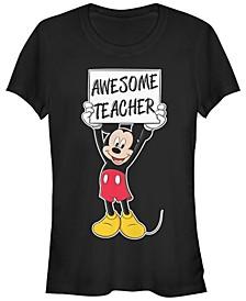 Women's Disney Mickey Classic Mickey Teacher Short Sleeve T-shirt