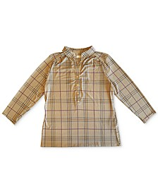 Plaid Polo Top, Created for Macy's
