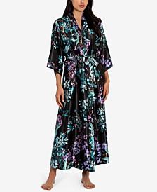 Florarl Print Wrap Robe