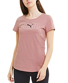 Women's Rebel Cotton Logo T-Shirt