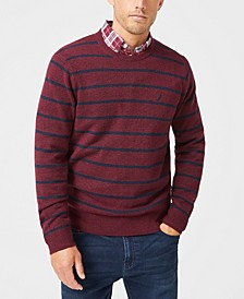 Men's Striped Crewneck Sweater