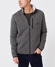 Men's Classic-Fit Full-Zip Fleece Sweatshirt