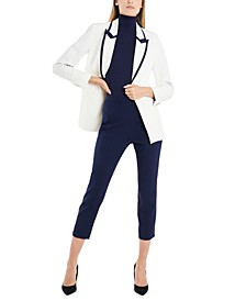 Logan Tipped Blazer, Created for Macy's