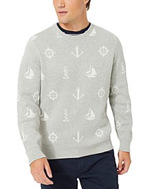 Men's Maritime Jacquard Sweater