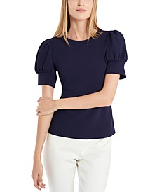 Isabella Puff-Sleeve Top, Created for Macy's